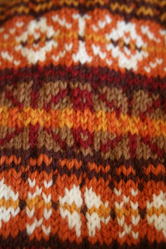 Ongoing Brown Sheep Nature Spun Stashbuster Vest | by ElinorB