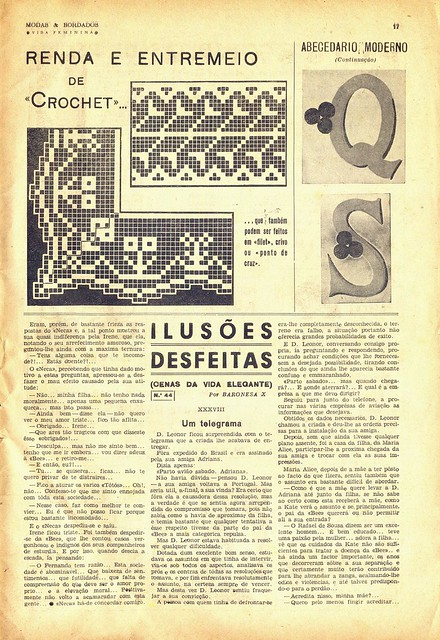 Modas e Bordados, No. 1617, February 1943 - 20