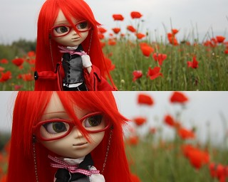 The red red world of Grell | by mad_pullips