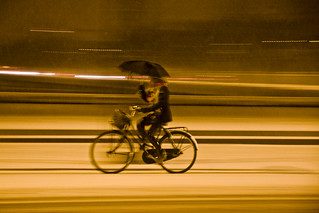 Snowstorm Style - Cycling in Winter in Copenhagen | by Mikael Colville-Andersen