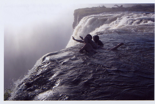 In the Water at Victoria Falls | by Berkeley Study Abroad
