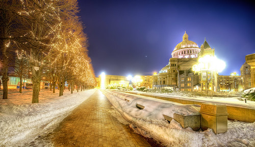 A Chilly Night in Boston | by Stuck in Customs