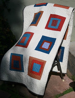 Solids & Squares Quilt | by alissahcarlton
