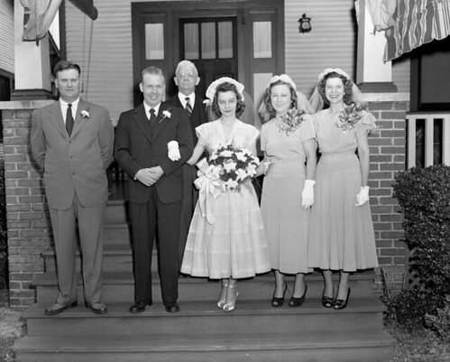 Wedding party | by The Library of Virginia