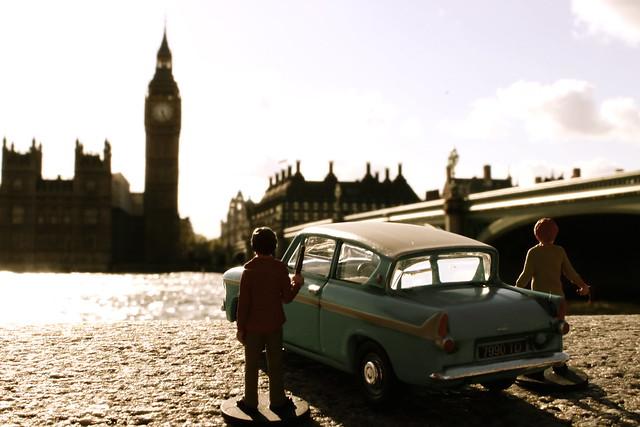 Harry Potter in London