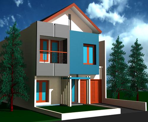 desain rumah minimalis citra grand desain rumah