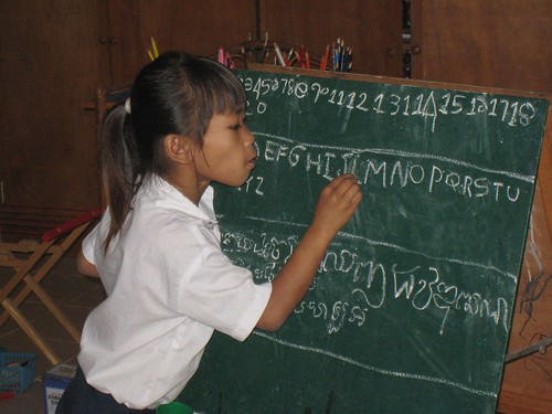 For my birthday, we raised money to send almost 625 Cambodian Youngsters to School! | by cambodia4kidsorg