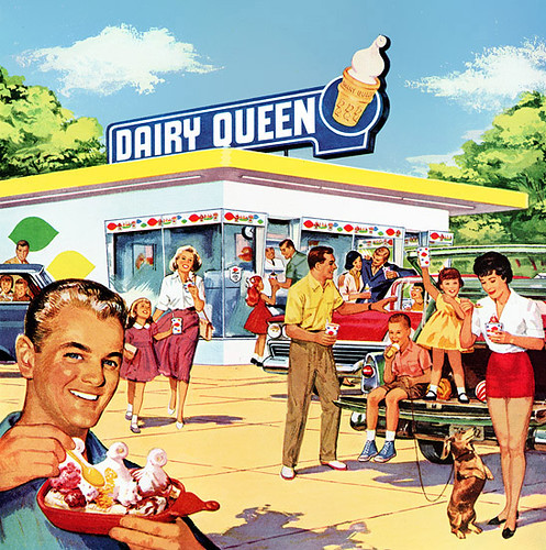 Part of a 1960 Dairy Queen magazine ad | by Paxton Holley
