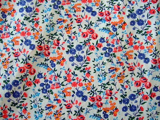 flowered vintage fabric | by chickadee nest {martha}