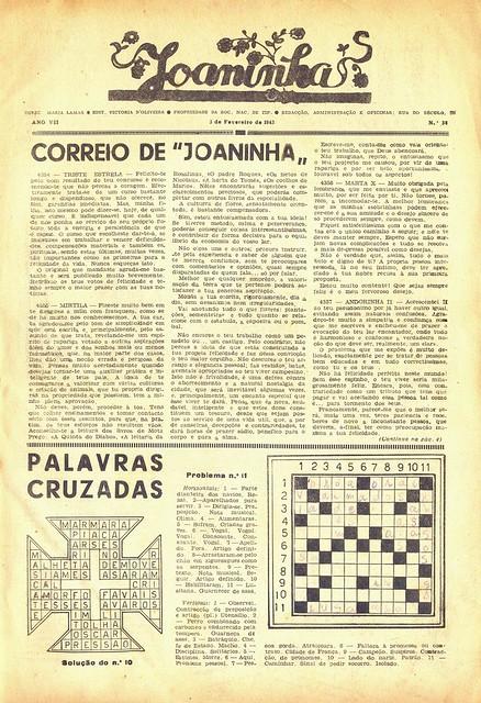 Modas e Bordados, No. 1617, February 1943 - 10