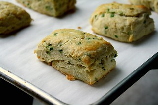 Chive Biscuits | by Tracey's Culinary Adventures