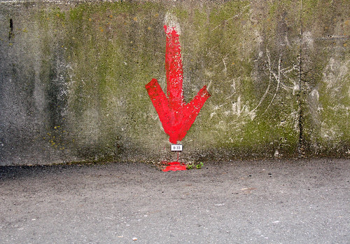 red arrow | by Samm Bennett