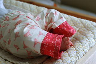 little bird pants for lila | by supergail