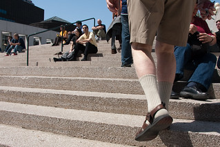 2009 - 117/365 - Socks & Sandals... | by Francis Bourgouin