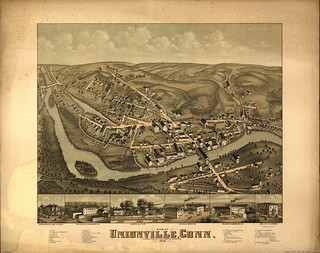 View of Unionville, Conn. (Petersen Collection) | by uconnlibrariesmagic