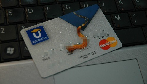 Upromise credit card