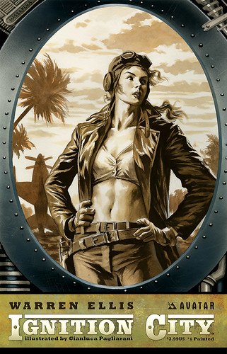 Ignition City #1 Painted | by Avatar Press