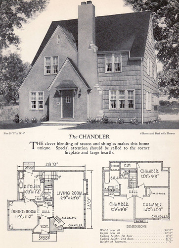 1928 Home Builders Catalog The Chandler