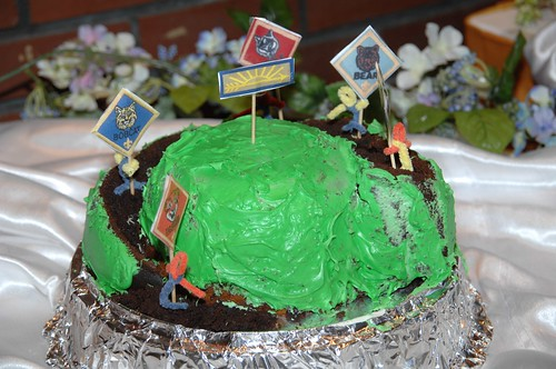 Cub Scout Blue And Gold Cake Ideas