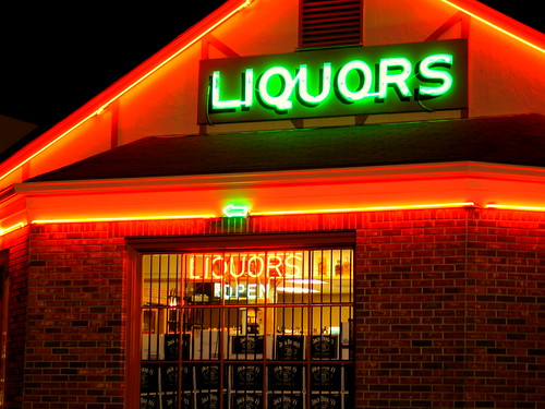 Liquors - Night | by urbanwoodchuck