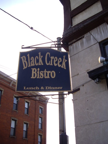 Black Creek Bistro Sign | by swampkitty