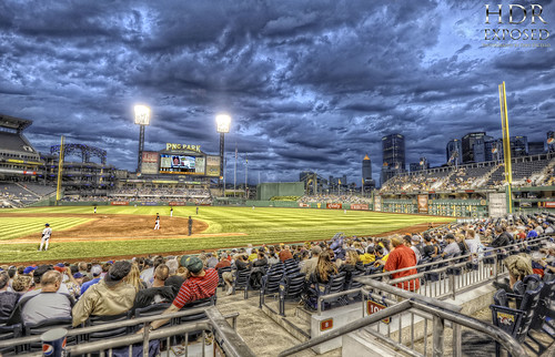 Blue hour at PNC Park HDR | by Dave DiCello