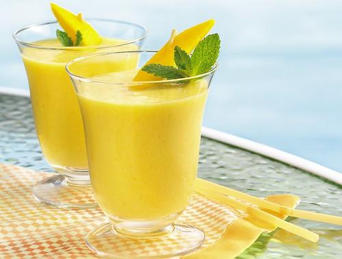 3-Ingredient Coconut Mango Ice Cream