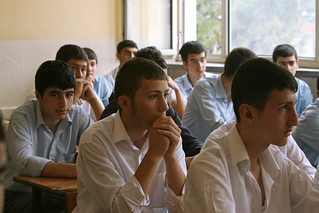 Students in class at Sisli Vocational High School | by World Bank Photo Collection