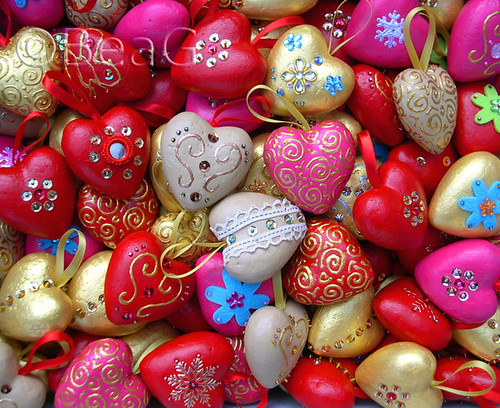 Heart Ornaments Galore | by Made by BeaG
