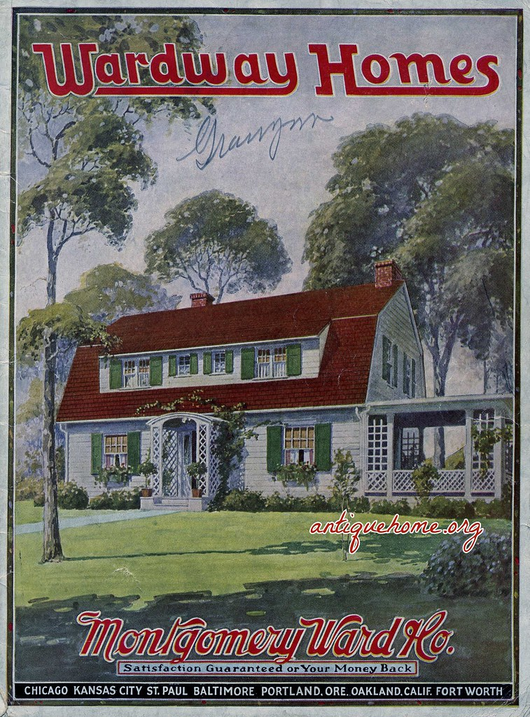 1926 Wardway Homes Kit Houses From The Montgomery Ward