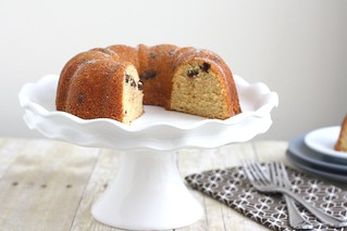 Chocolate Chip Brown Sugar Bundt Cake | by Tracey's Culinary Adventures
