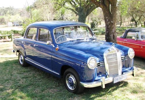 Mercedes benz 1956 190 j1 paul horn flickr for Mercedes benz horn