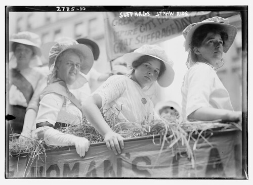 Suffrage Straw Ride  (LOC) | by The Library of Congress