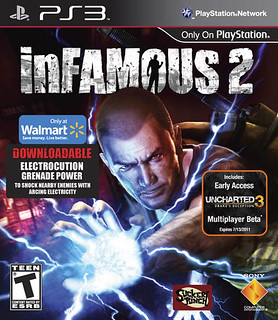 inFAMOUS 2 Walmart SKU | by PlayStation.Blog