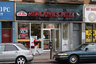 Papa John's Pizza, Williamsburg, Brooklyn | by Eating In Translation