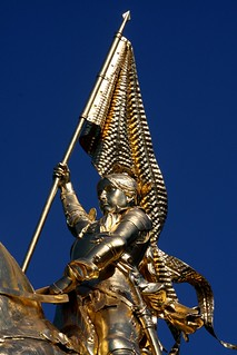 Joan of Arc statue, Portland OR | by brx0