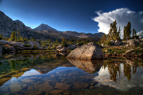 Reflections in Sixty Lake Basin | by Jonohey