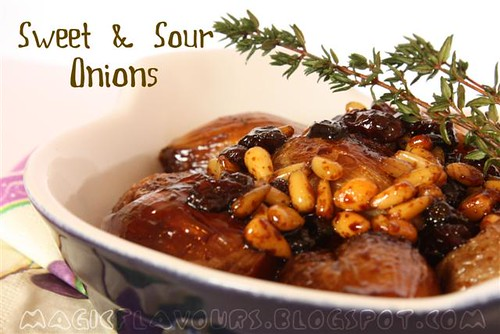 Magic Flavours: Sweet & Sour Baby Onions | by CinnamonKitchn