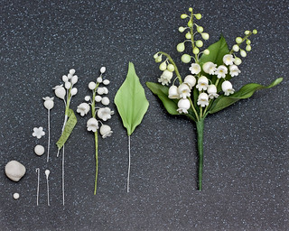 How to make a Lily of the Valley in Sugar | by snowflake70