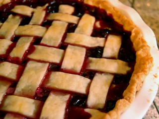 Concord grape pie | by K. B. R.