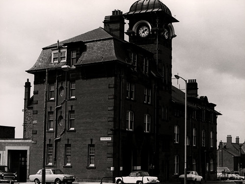 022606:East End Police Station, Headlam Street, Byker, City Engineers 1974
