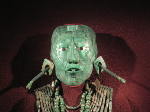 Jade funeral mask from Palenque | by Qoen