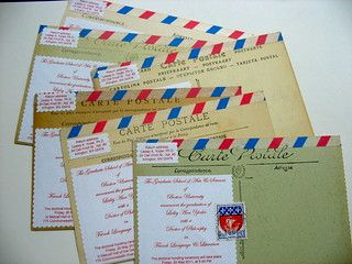 Vintage Paris Graduation Announcements | by Words and Eggs