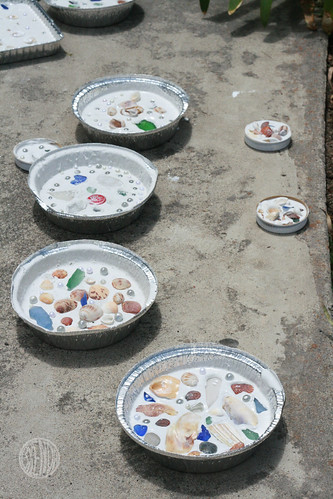 pretty shell pies drying in the sun | by secret agent josephine