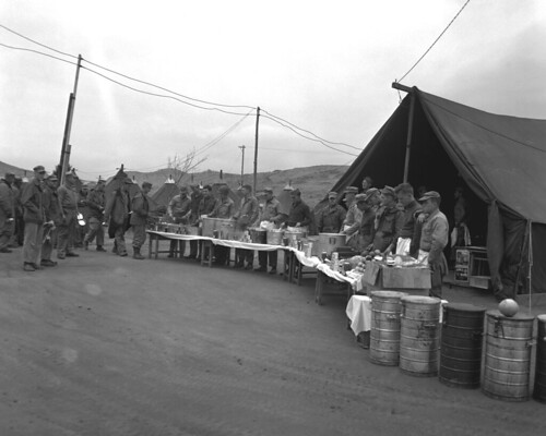 Korean War - 127-GK-234G-A5289 Thanksgiving dinner of 1st Signal Battalion | by U.S. Army Korea (Historical Image Archive)