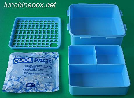 Lock & Lock cool pack container (exploded) | by Biggie*