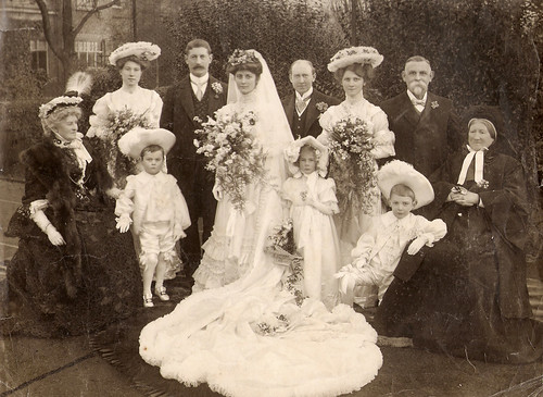 Wedding of Isabelle Henderson and William Potts, 1906 | by jhndyl
