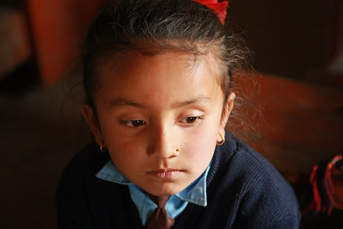 Young girl at  Shreeshitalacom Lower Secondary School | by World Bank Photo Collection