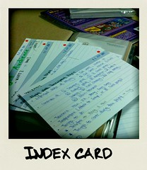 Index Card | by koalazymonkey