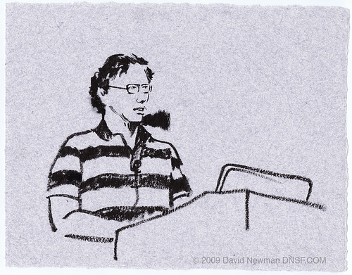 Google I/O: Paul Berry, The Huffington Post - drawn from life. | by DNSF David Newman